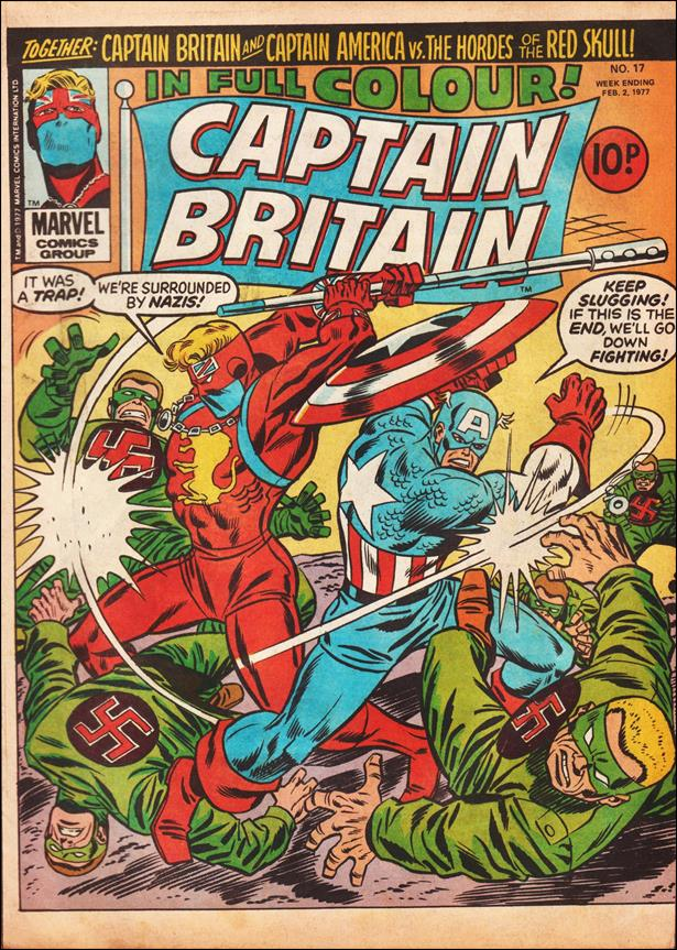 Captain Britain (UK) (1976) 17-A by Marvel UK