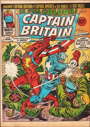 Captain Britain (UK) (1976) 17-A
