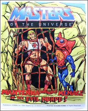 Masters of the Universe (1983) 4.8-A by Mattel