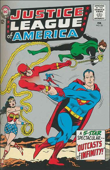 Justice League of America (1960) 25-A by DC
