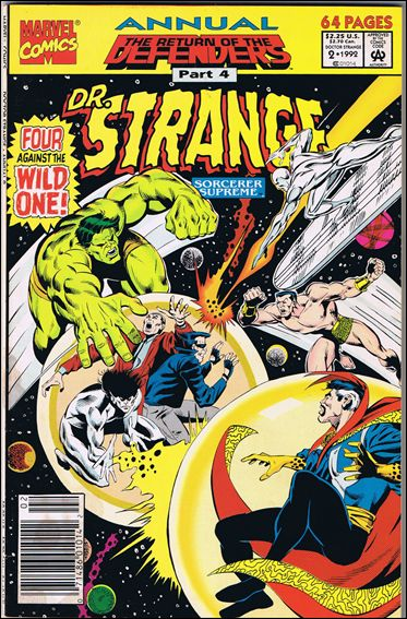 Dr. Strange Annual 2-Z-INVALID by Marvel