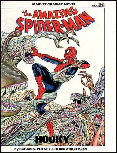 Marvel Graphic Novel: The Amazing Spider-Man in Hooky nn-A by Marvel