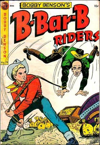 Bobby Benson's B-Bar-B Riders (1950) 19-A by Magazine Enterprises