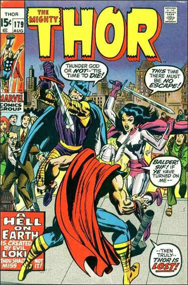 Thor (1966) 179-A by Marvel