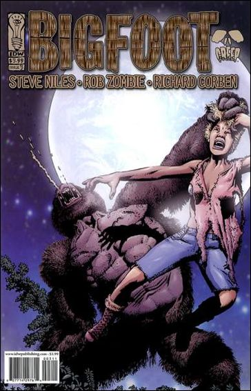 Bigfoot 3-A by IDW