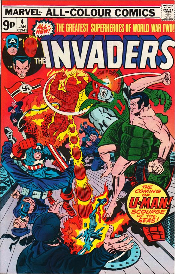 Invaders (1975) 4-B by Marvel