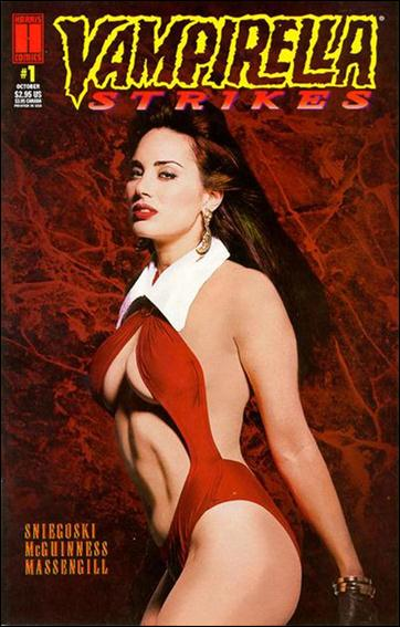 Vampirella Strikes (1995) 1-A by Harris