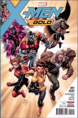 X-Men: Gold (2017) 1-Q