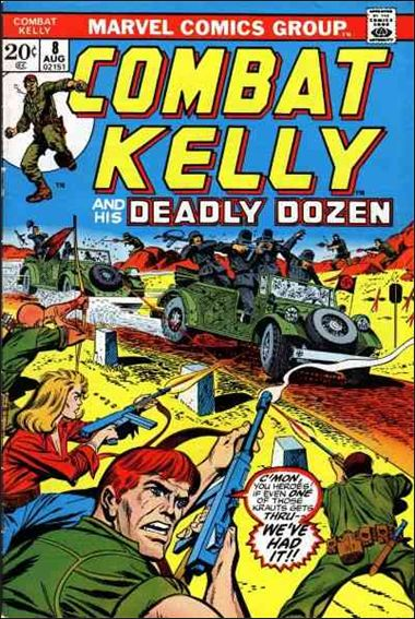 Combat Kelly (1972) 8-A by Marvel