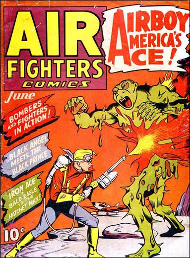Air Fighters Comics (1941) 9-A by Hillman