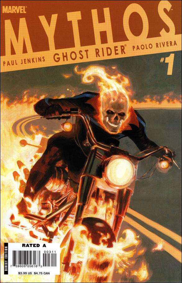 Mythos: Ghost Rider 1-A by Marvel
