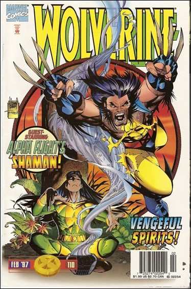 Wolverine (1988)  110-B by Marvel