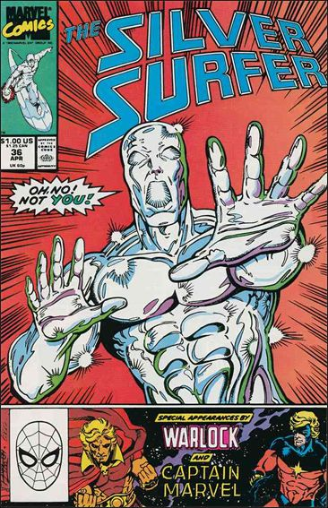 Silver Surfer (1987) 36-A by Marvel