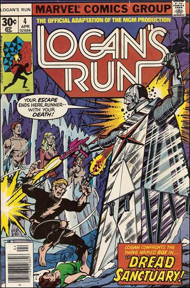 Logan's Run (1977) 4-A by Marvel