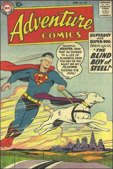 Adventure Comics (1938) 259-A by DC