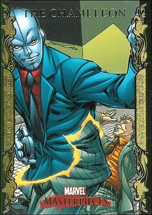 2007 Marvel Masterpieces (Parallel Gold Border Base Set) 18-A