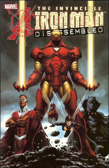 Avengers Disassembled: Iron Man 1-A by Marvel