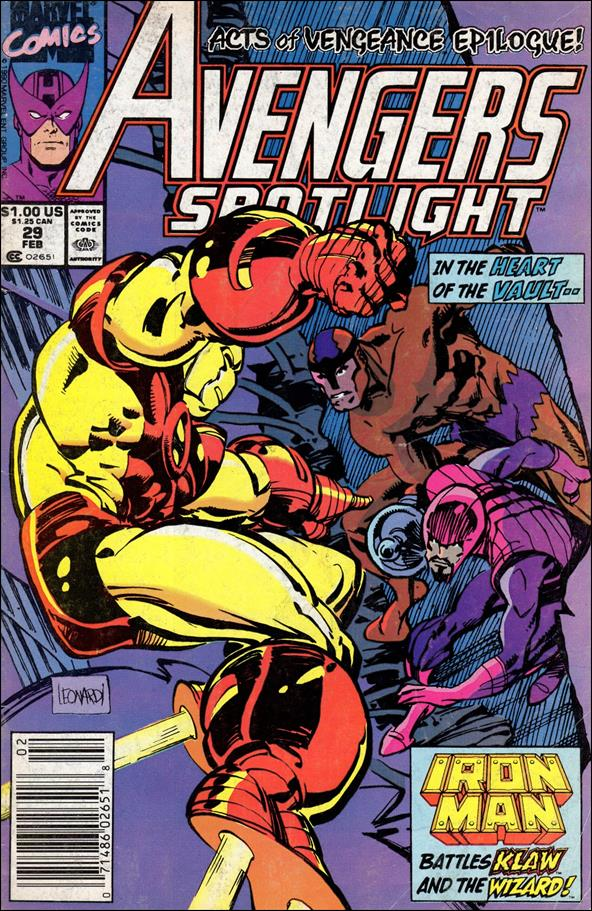 Avengers Spotlight 29-A by Marvel