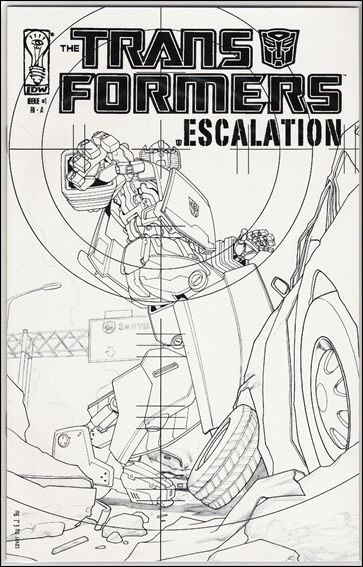 Transformers: Escalation 1-D by IDW