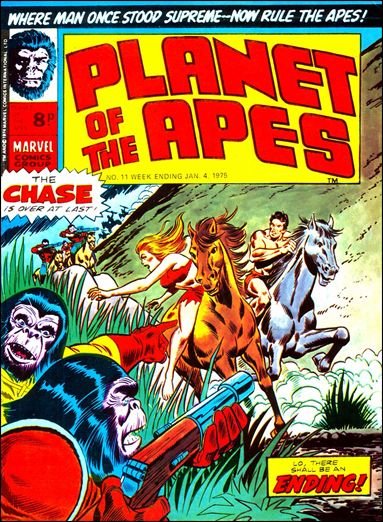 Planet of the Apes (UK) (1974) 11-A by Marvel UK