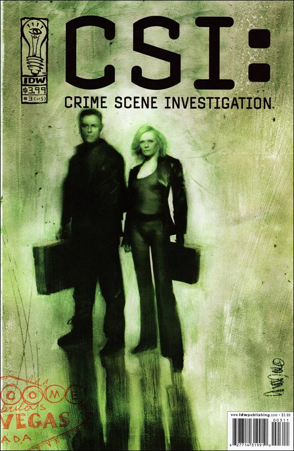 CSI: Crime Scene Investigation 3-A by IDW
