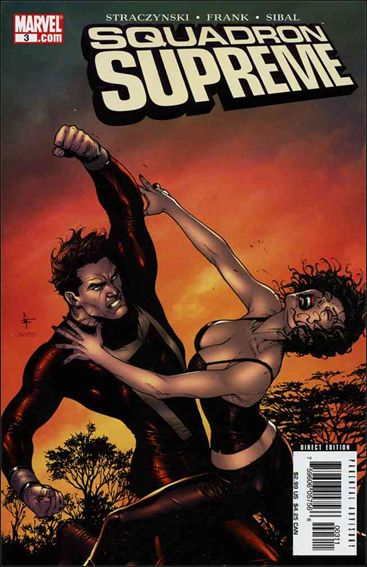 Squadron Supreme (2006) 3-A by Marvel