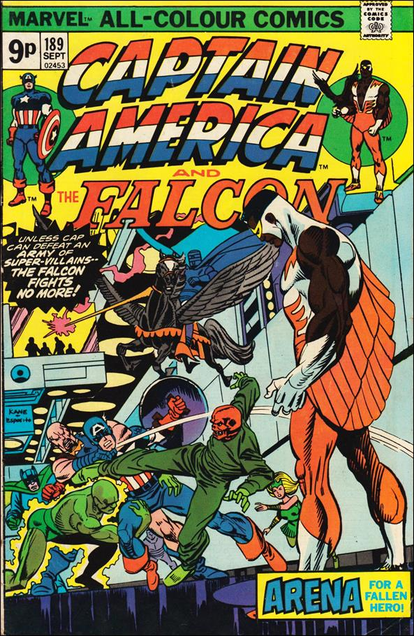 Captain America (1968) 189-B by Marvel