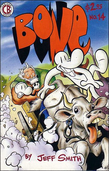 Bone (1991) 14-A by Cartoon Books