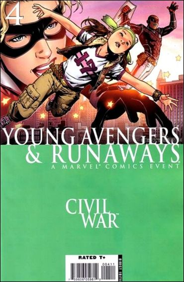 Civil War: Young Avengers & Runaways 4-A by Marvel
