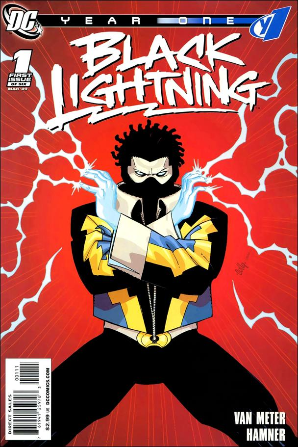Black Lightning: Year One 1-A by DC