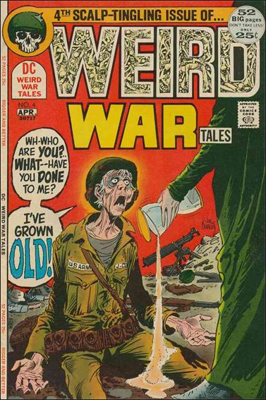 Weird War Tales (1971) 4-A by DC