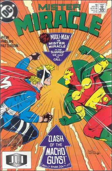 Mister Miracle (1989) 10-A by DC