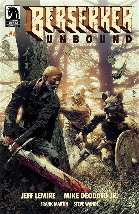 Berserker: Unbound 4-A by Dark Horse