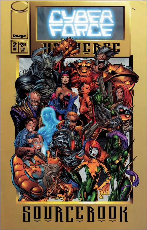 Cyberforce Universe Sourcebook 2-A by Image