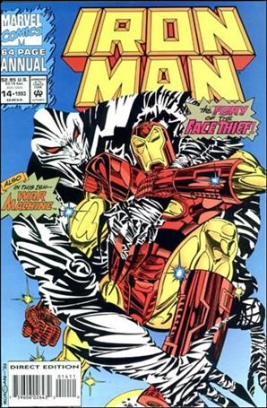 Iron Man Annual (1970) 14-A