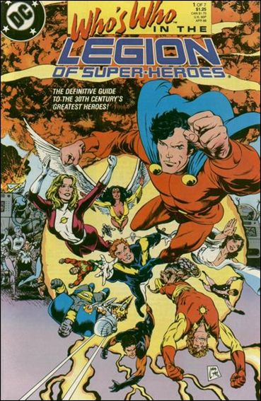 Who's Who in the Legion of Super-Heroes 1-A by DC