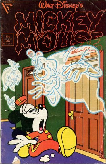 Walt Disney's Mickey Mouse 252-A by Dell
