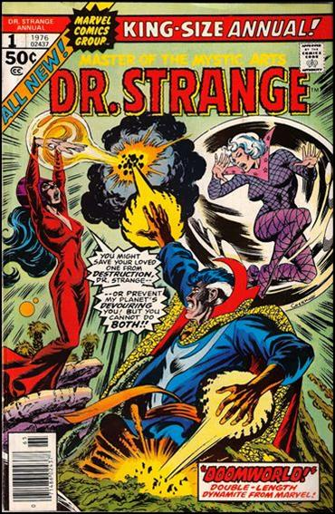Dr. Strange Annual 1-A by Marvel