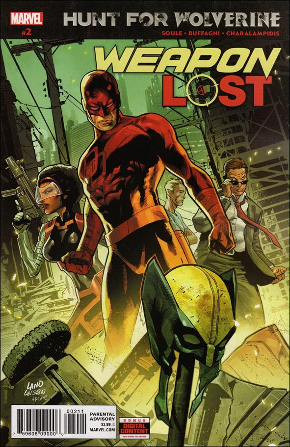 Hunt for Wolverine: Weapon Lost 2-A by Marvel