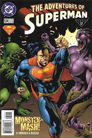 Adventures of Superman (1987) 534-A