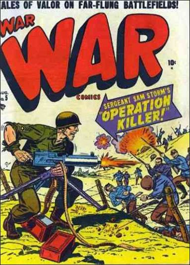 War Comics (1950) 5-A by Atlas