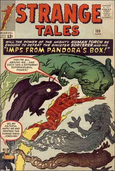 Strange Tales (1951) 109-A by Marvel