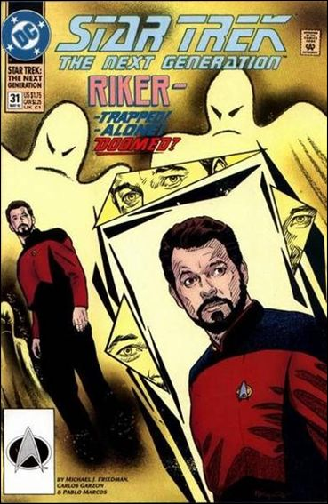 Star Trek: The Next Generation (1989) 31-A by DC