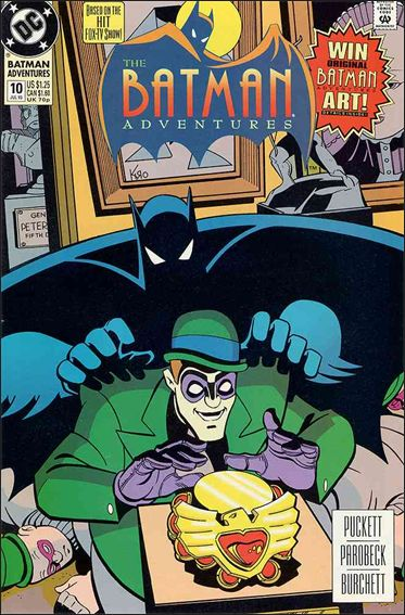 Batman Adventures (1992) 10-A by DC