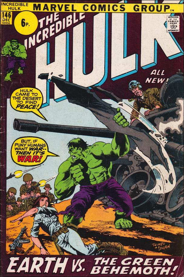 Incredible Hulk (1968) 146-B by Marvel