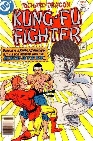 Richard Dragon, Kung-Fu Fighter 14-A by DC