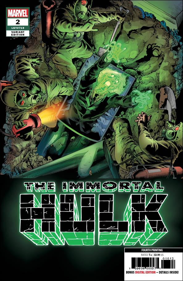 Immortal Hulk 2-E by Marvel