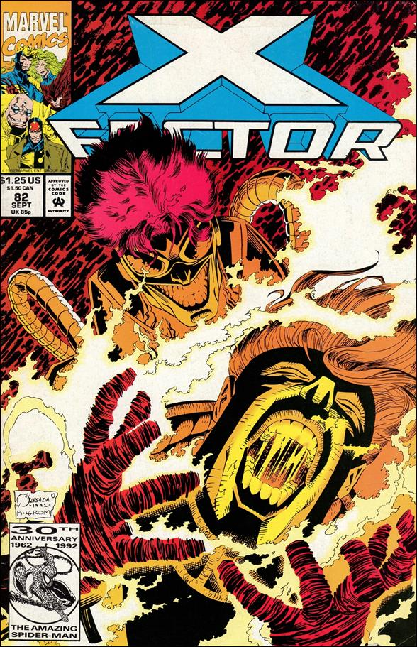 X-Factor (1986) 82-A by Marvel