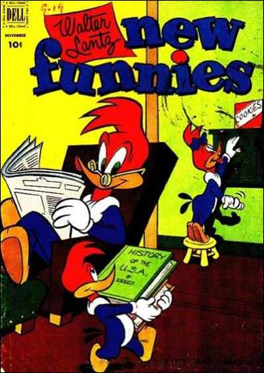 Walter Lantz New Funnies 189-A by Dell