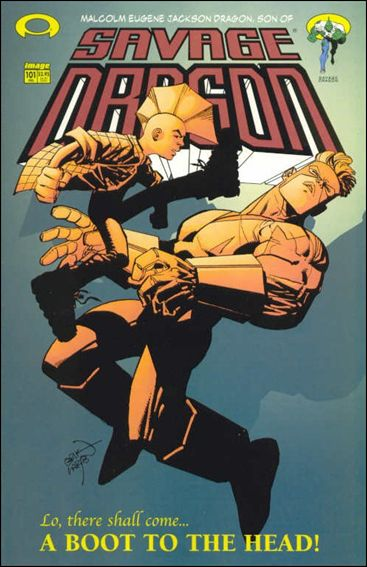 Savage Dragon (1993) 101-A by Image